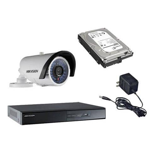 Hikvision CCTV Camera - Silver Package (CCTV)