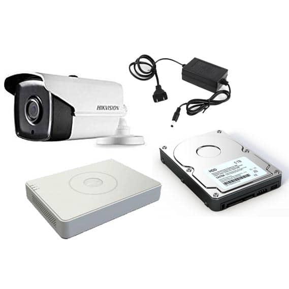 Hikvision CCTV Camera - Titanium Package