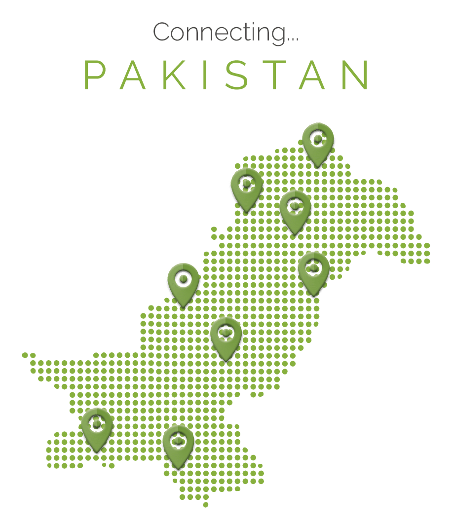 Pak Communications Fancy Map