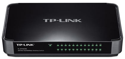 TP-Link TL-SF1024M 24-port - Ethernet Switch