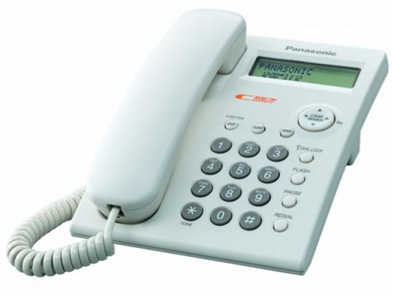 Panasonic CLI Telephone in white
