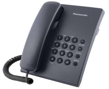 Panasonic Non CLI Telephone in Black color